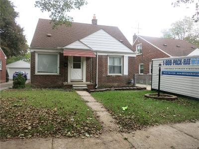 Dearborn, Dearborn Heights Single Family Home For Sale: 1941 Edgewood Street