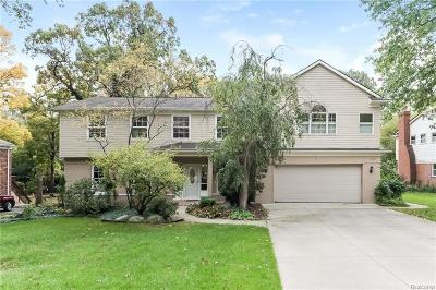 Bloomfield Twp Single Family Home For Sale: 459 Kendry