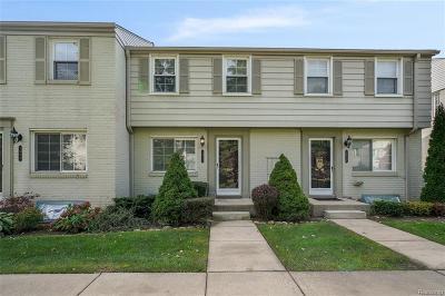 Birmingham MI Condo/Townhouse For Sale: $179,900