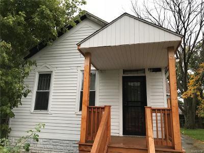 Detroit Single Family Home For Sale: 941 Calumet Street
