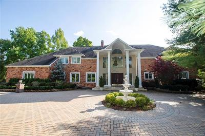 Bloomfield Hills Single Family Home For Sale: 102 Endicott Road