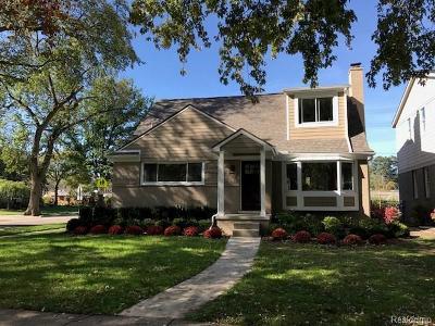 Huntington Woods Single Family Home For Sale: 26001 Allor Avenue