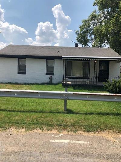 Romulus Single Family Home For Sale: 6480 Hunt Street
