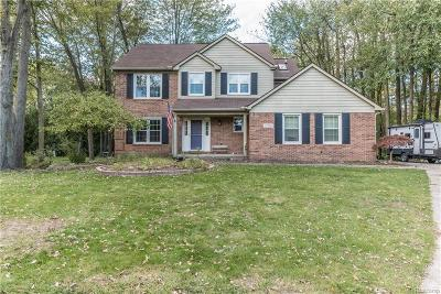 Garden City, Plymouth, Canton Twp, Livonia Single Family Home For Sale: 2596 Woodcreek Court