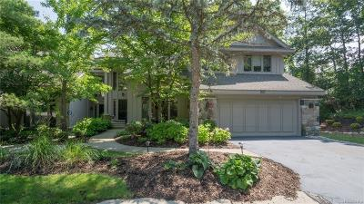 West Bloomfield Twp Condo/Townhouse For Sale: 4941 Woodcliff Hill Road N