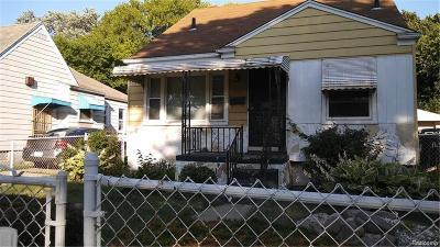 Detroit MI Single Family Home For Sale: $20,000