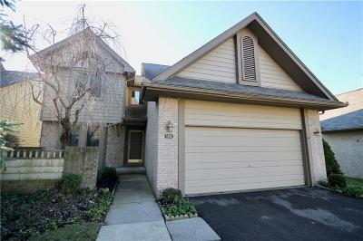 West Bloomfield, West Bloomfield Twp Condo/Townhouse For Sale: 4813 Pelican Way