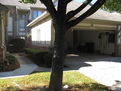 Canton, Canton Twp Condo/Townhouse For Sale: 42235 Saratoga Circle