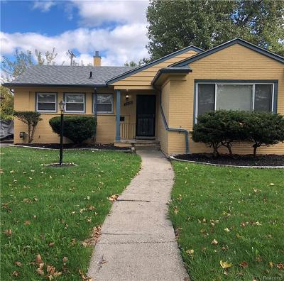 Oakland County Single Family Home For Sale: 22120 Marlow Street