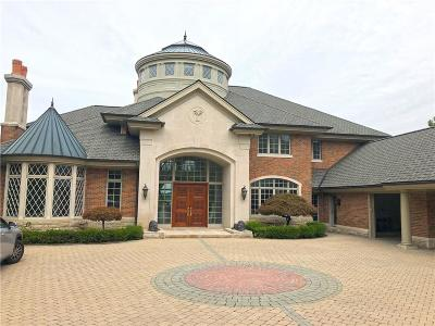 West bloomfield Twp Single Family Home For Sale: 2790 W Long Lake Road