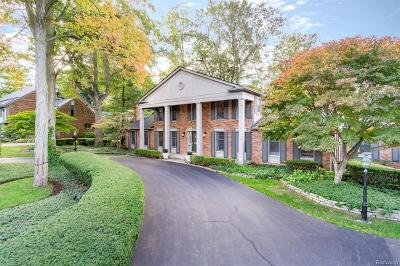 Bloomfield Twp Single Family Home For Sale: 2723 Indian Mound S
