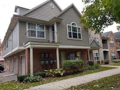 Shelby Twp Condo/Townhouse For Sale: 49241 W Woods Drive