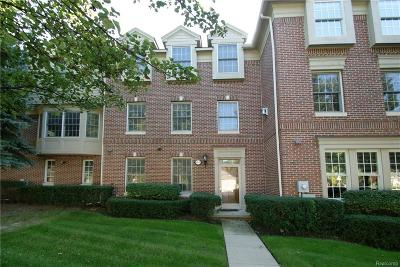 Royal Oak Condo/Townhouse For Sale: 801 N Sherman Drive