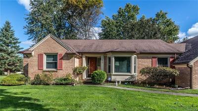 Single Family Home For Sale: 11870 Leighwood Drive