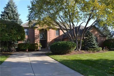 Oakland Twp Single Family Home For Sale: 4767 Deer Park Court