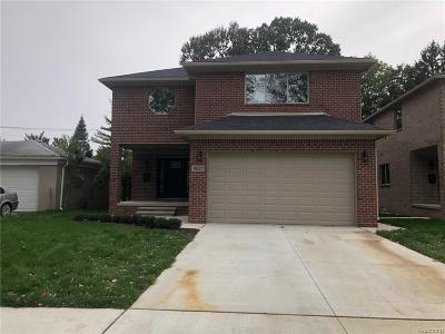 Dearborn Single Family Home For Sale: 6821 Fenton Street