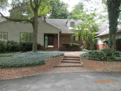 Franklin Vlg Single Family Home For Sale: 32577 Wing Lake Road