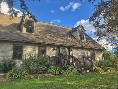 Washtenaw County Single Family Home For Sale