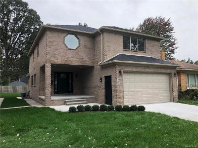 Dearborn Single Family Home For Sale: 6833 Fenton Street