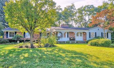 BLOOMFIELD Single Family Home For Sale: 4035 Blackthorn Court