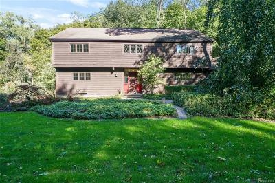 Bloomfield Hills Single Family Home For Sale: 1438 Kensington Road