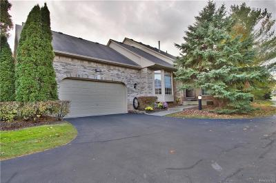 Shelby Twp Condo/Townhouse For Sale: 1953 Clearwood Court