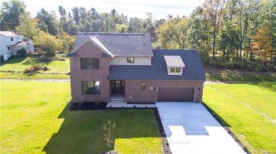 White Lake Single Family Home For Sale: 4480 Grass Lake Road