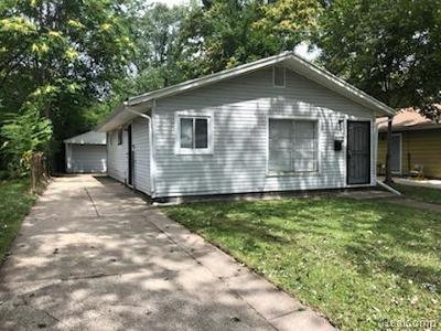 Inkster Single Family Home For Sale: 26894 Florence Street