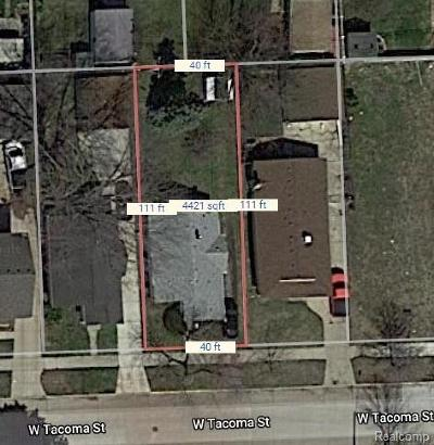 Clawson Residential Lots & Land For Sale: 86 W Tacoma Street