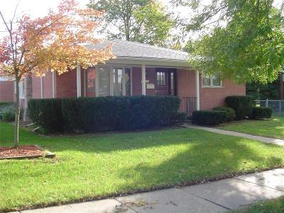 Southgate Single Family Home For Sale: 16513 Walter Street