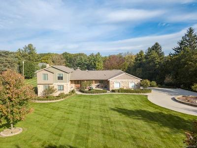 Washington Twp Single Family Home For Sale: 5315 West Road
