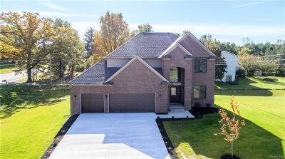 White Lake Single Family Home For Sale: 4490 Grass Lake Road