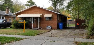 Dearborn Heights Single Family Home For Sale: 25432 Powers Avenue