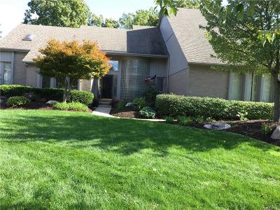 NOVI Single Family Home For Sale: 24454 Redwing Drive