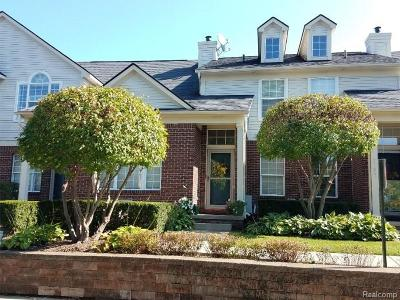 Commerce Twp Condo/Townhouse For Sale: 7103 Jasmine Drive #95