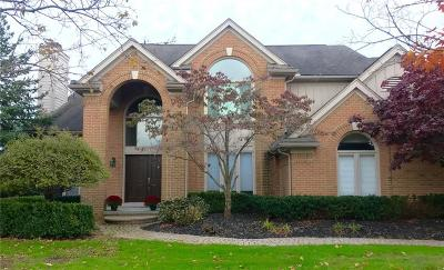 West Bloomfield Twp Single Family Home For Sale: 5035 Village Square Court