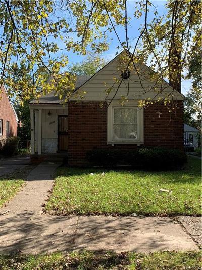 Detroit Single Family Home For Sale: 11898 Laing Street
