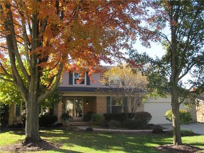 Rochester Hills Single Family Home For Sale: 1661 Black Maple Drive