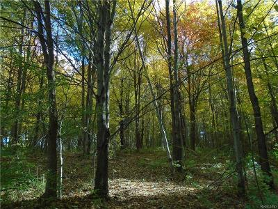 Hartland Twp MI Residential Lots & Land For Sale: $89,900