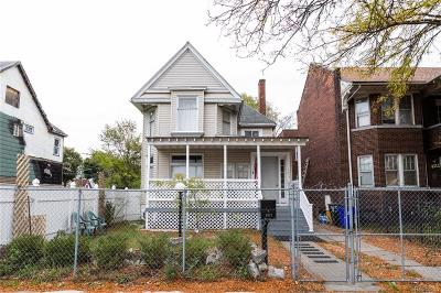 Detroit Single Family Home For Sale: 3617 Bagley Street
