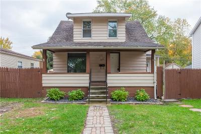 Hazel Park Single Family Home For Sale: 335 W Goulson Avenue