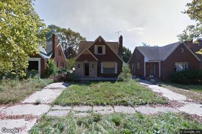 Detroit Single Family Home For Sale: 11526 Nottingham Road