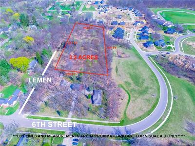 Residential Lots & Land For Sale: Sixth