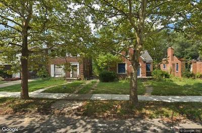 Detroit Single Family Home For Sale: 11521 Nottingham Road