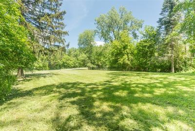 West Bloomfield Twp Residential Lots & Land For Sale: 6059 Pontiac Trail