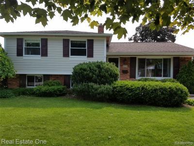 Royal Oak Single Family Home For Sale: 4826 Elmhurst Avenue