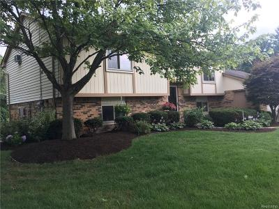 Wolverine Lake Vlg Single Family Home For Sale: 275 Wolverine Drive