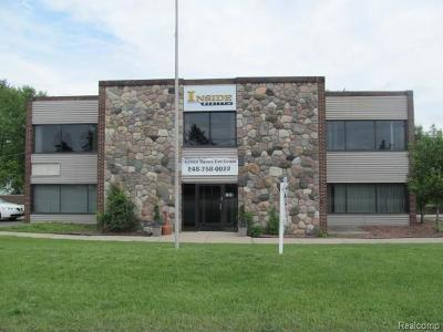 Bloomfield Twp MI Commercial Lease For Lease: $1,825