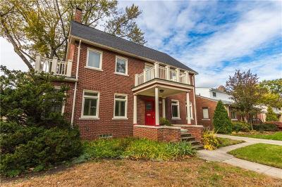 ROYAL OAK Single Family Home For Sale: 1409 Sunset Boulevard