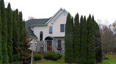Brandon Twp Single Family Home For Sale: 326 Sleepy Hollow